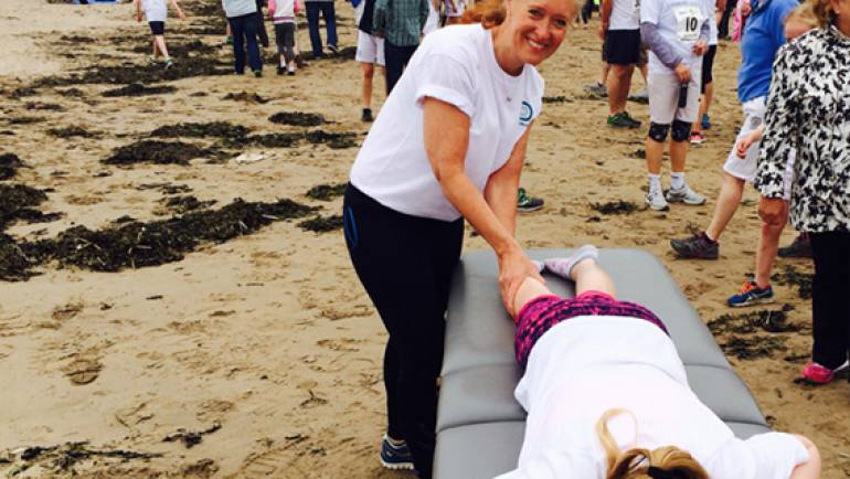 PhysioWorks supports Chariots runners